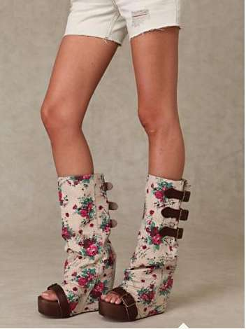 Boot/Clog Hybrids - Free People Show off a Dramatic Shoe Design for