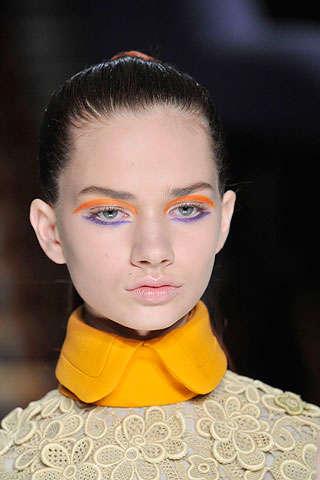 Orange & Purple Eye Accents