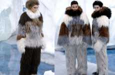 Sasquatch Suit Fashions - The Chanel AW10 Collection Prepares You For Another Ice Age