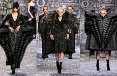 Gargantuan Glamorous Fashions - The Viktor & Rolf AW10 Collection Dwarfs the Competition