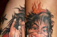 Flaming Celeb Ink