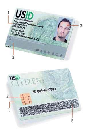 Real ID - DHS to Force Increased Security for National IDs