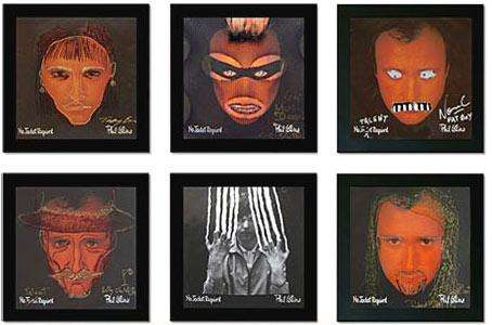 Deface Value - Phil Collins Albums Defaced by Celebrities for Charity