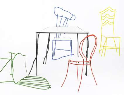 The Mommy's Chair - Real Designer Chairs That Look Like Scribbles