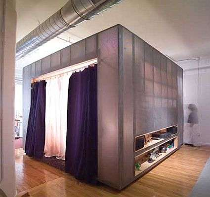 Z-Box - The Freestanding Bedroom-In-A-Box