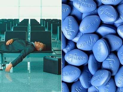 Perhaps Viagra Can Soften Jet Lag's Impact