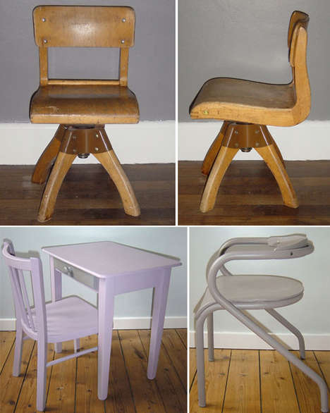 Vintage Furniture for Stylish Children