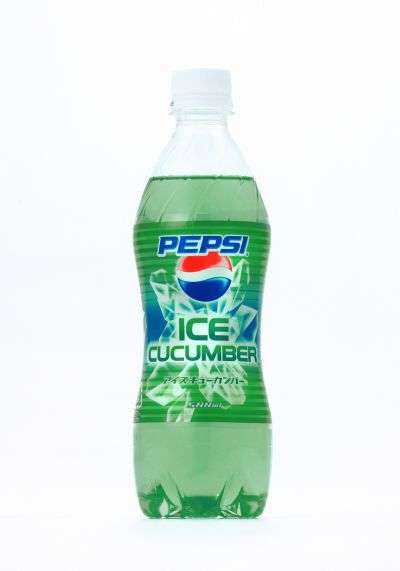 Veggie Flavored Soda - Pepsi Ice Cucumber