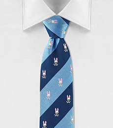 Psycho Bunny Striped Tie
