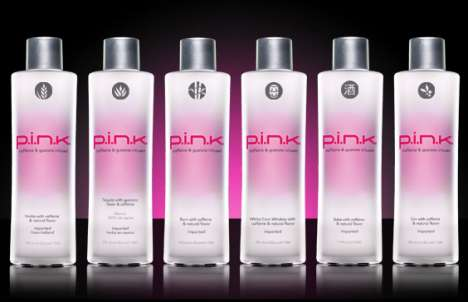 Energy Vodka - P.I.N.K. Vodka is Infused With Caffeine & Guarana