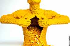 Lego Art - The Work of Nathan Sawaya