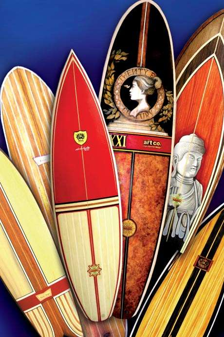 Original Artwork on Surfboards