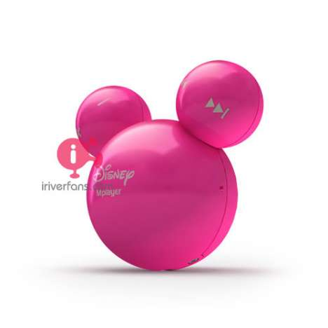 iRiver Mickey Mouse Shaped Disney MP3 Player