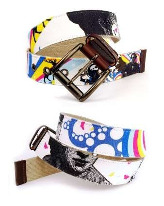 Belts of Art - Unchaste Releases New Belts by International Graphic Artists