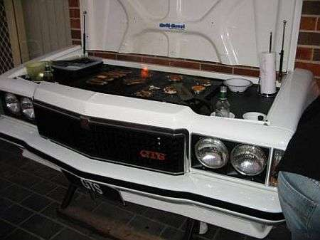 BBQs as Art - Recycle Your Old Car Into A BBQ