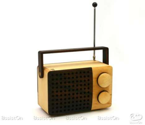 Wood Electronics - Magno Radio