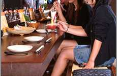Japan's Pub Paradise Restaurant Caters To The Healthy Feet of Women