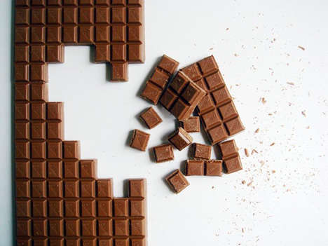 Pixel Block Chocolates - Tithi Kutchamuch Creates Chocolate With a Social Message