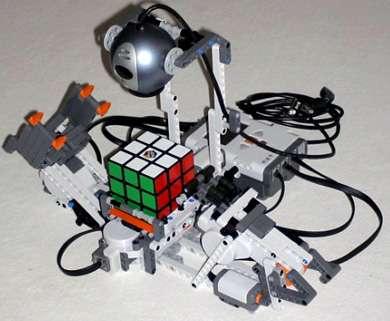 LEGO NXT Rubik's Cube Solver