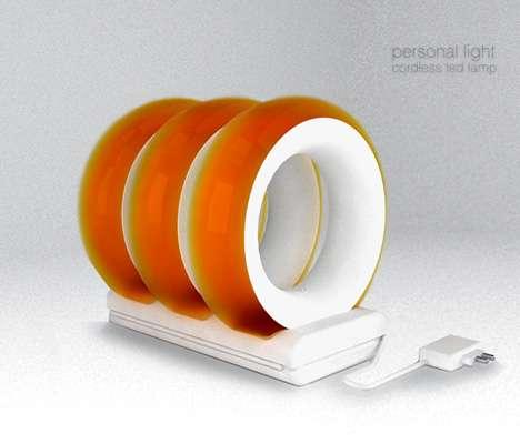 Portable LED Lamp Rings
