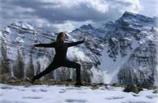 Heli-Yoga - Icefield Helicopter Tours Alberta in Search of Your Self-Enlightenment