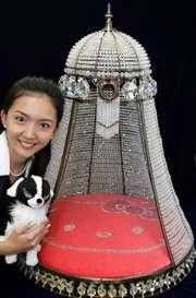 Hello Kitty's $30,000 Crystal Dog House
