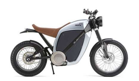 The Enertia Electric Motorcycle is Quiet and Clean