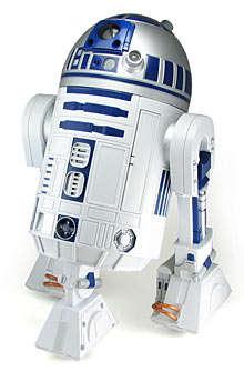 Working R2-D2 Robot