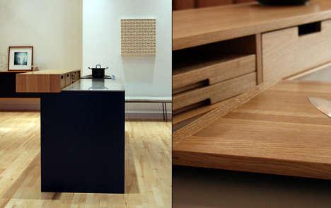 Crafty Culinary Cabinets