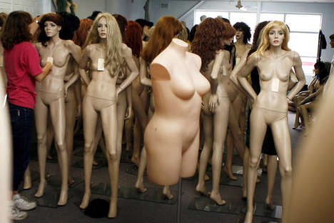 Plus-Sized Mannequins Embraced in Department Stores