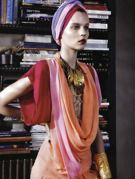 Multi-Colored Turbans