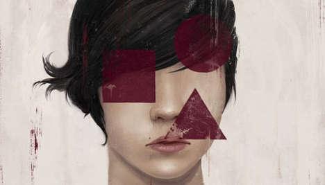 Haunting Eyeless Art
