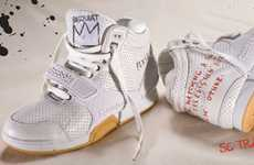 Infamous Artist Sneaks - The Jean-Michel Basquiat Reebok 2010 Lookbook is All Pretty
