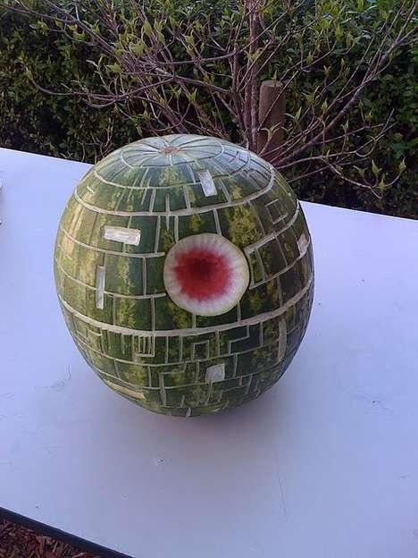 Edible Star Wars Art