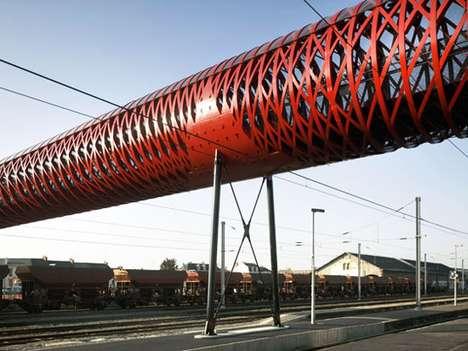 Red Ribboned Bridges