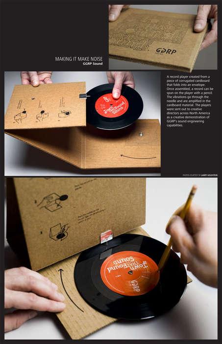 Papercraft Phonographs