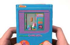 Papercraft Gaming Systems - The Paper Game Boy Makes Me Want to Game like It's 1999