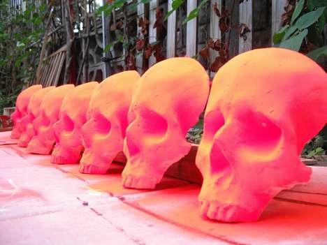 Skeletal Urban Art
