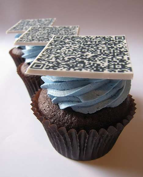 Scannable Snacks - The QR Code Cupcakes are the Best Thing to Come Out of Montreal Since Parizeau