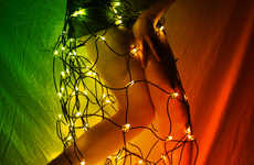 Illuminated Skintography - Showtime Collection by June Asheim is Caught Up in Holiday Spirit