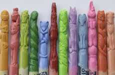 Astrological Art Supplies - Diem Chau Creates Killer Chinese Zodiac Crayons