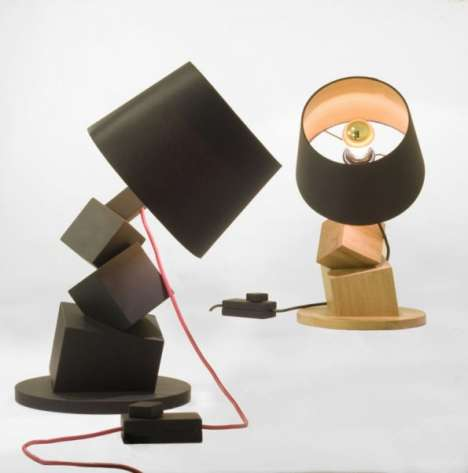 Topsy-Turvy Lamps
