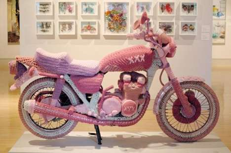 Try to Ride the Theresa Honeywell Knit Bike