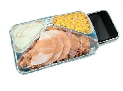 TV Dinner iPhone Cases