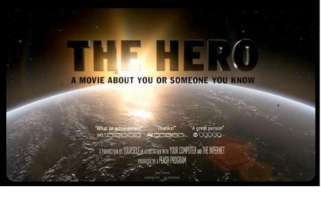 Customized Heroism - Make Yourself into a Hero With This Viral Film
