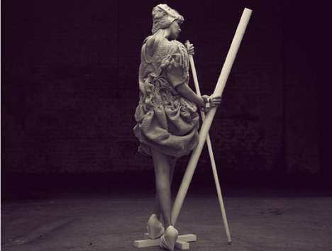Subdued Statuesque Fashion