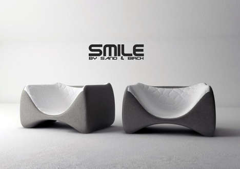 The Sand and Birch Smile Chair is the Perfect Pick-Me-Up