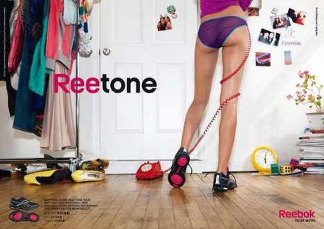 Butt-Shaping Kicks - The Reebok Reetone Easytone Shoes Get Your Rear into Gear