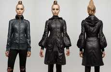 Futuristic Rain Wear - Take Mackage Packable Jackets With You Anywhere