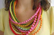 Upcycled Artistic Accessories - Grain Design Promotes Guatemalan Artisans and Helps the Planet